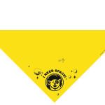 Kollane rätik  2 värviga